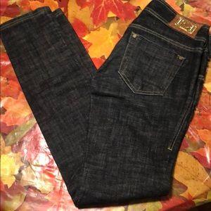 Dark Blue pair of Bebe Jeans